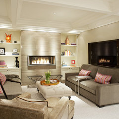 contemporary family room Vizzini