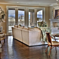Mediterranean Family Room by Lakeville Homes