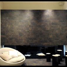 Contemporary Family Room by Statements Tile