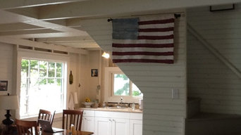 Wall hanging woven Country Folk Art Flag