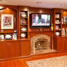 Traditional Family Room by Essential Home Artisans Design Center