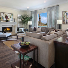 contemporary family room by International Custom Designs