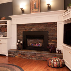 Traditional Family Room by Reviving Design – Angela Martel
