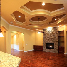 Mediterranean Family Room by Dostie Homes