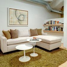Contemporary Family Room by Vastu
