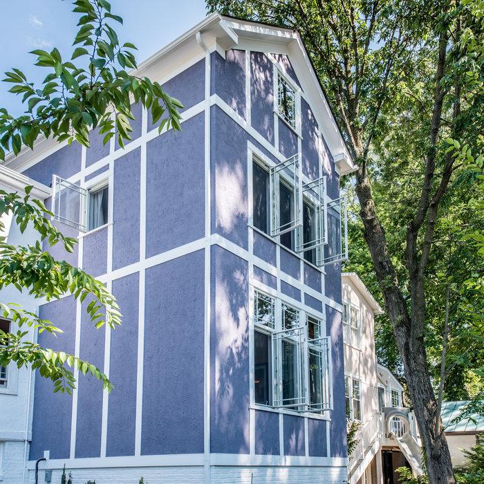 Washington, DC Stucco-Finished Addition