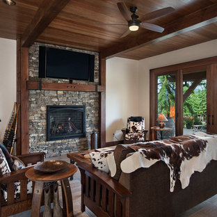 Washington Mountain Retreat, Timber Frame Home - Cle Elem Residence