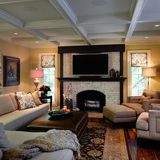 Traditional Family Room by Reehl Interiors, Inc.