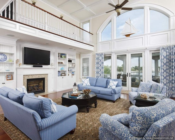 Traditional Family Room by Michael Pagnotta Architects pc