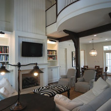 Traditional Family Room by Archiscapes