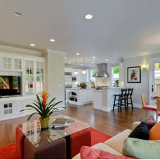 Family Room by California Homes and Kitchen Design Center
