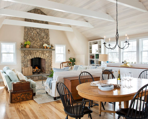Whitewashed Ceiling Home Design Ideas Pictures Remodel