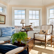 Traditional Family Room by Kate Jackson Design