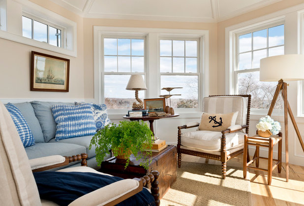 Victorian Family Room by Kate Jackson Design