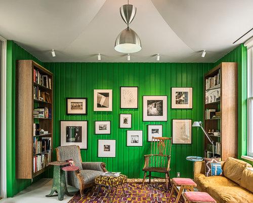 Midcentury Family Room Design Ideas, Remodels & Photos | Houzz