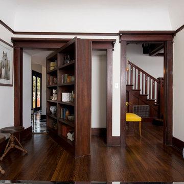 West Adams English Arts & Crafts restoration