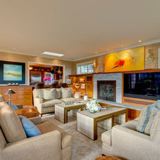 Traditional Family Room by Hammer & Hand