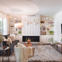 Room of the Day: A 1970s Living Room Slides Into the 21st Century