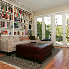 Eclectic Family Room by Custom Design & Construction
