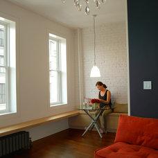 Contemporary Family Room by Zakrzewski + Hyde Architects