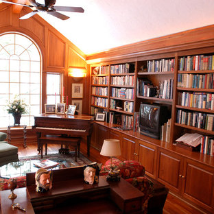 Western Reserve Traditional Library & Music Room