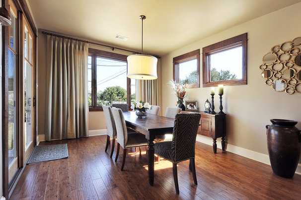 Traditional Family Room by Capstone Custom Homes
