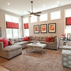 Modern Family Room by Butter Lutz Interiors, LLC