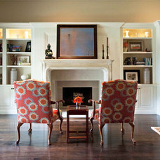 Traditional Family Room by Susan Corry Design