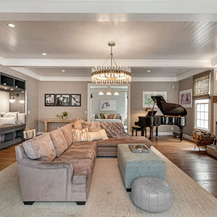 75 Beautiful Transitional Family Room Pictures Ideas February 2021 Houzz