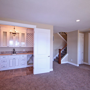 Wet Bar - The Ridgeback - Craftsman Ranch with Daylight Basement