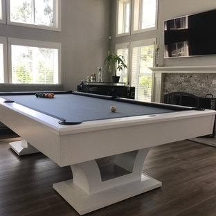 White Olhausen Bellagio Pool Table