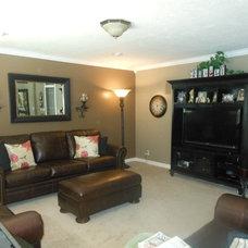 Traditional Family Room by Studio 7 Interior Design- Kristen Rockwood