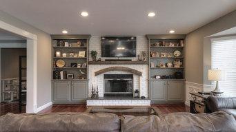 Whole house painting - Cabinet Refinishing