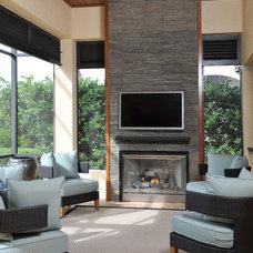Contemporary Porch by Progressive Builders, Inc.