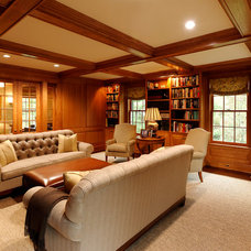 Traditional Family Room by BOWA