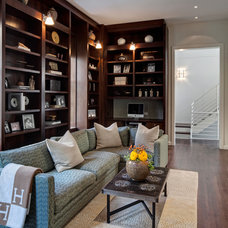 Traditional Family Room by Vinci | Hamp Architects