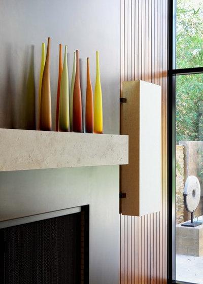 Contemporary Family Room by Studio William Hefner