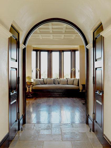 Mediterranean Family Room by Studio William Hefner