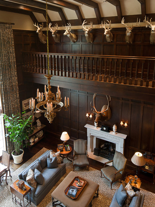 Traditional Family Room Idea In Atlanta Design Inspirations