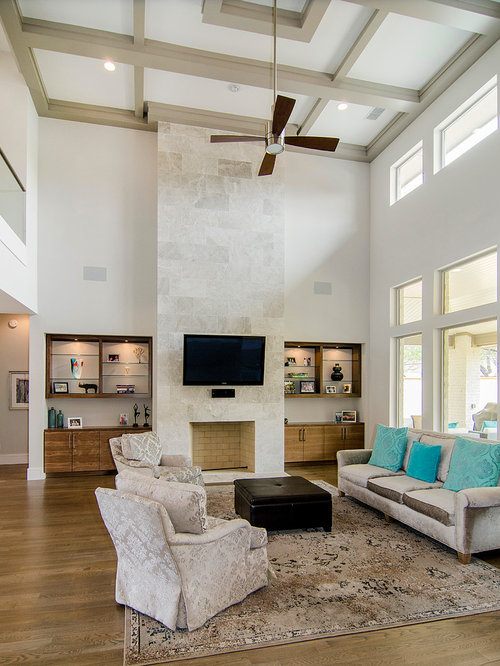 Fireplace Vaulted Ceiling Home Design Ideas Pictures