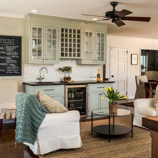 Modelo de sala de estar tradicional grande