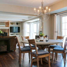Traditional Dining Room by Redstart Construction Inc.
