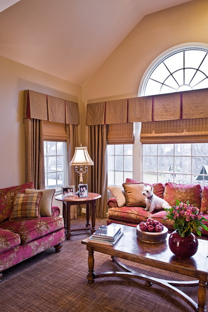 Traditional Family Room by Elegant Interior Designs
