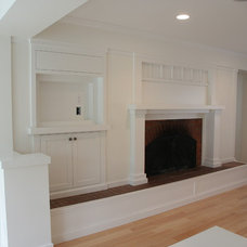 Traditional Family Room by Arbor Woodworking