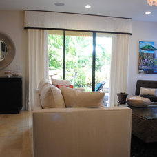 Contemporary Family Room by Kathryn Interiors, Inc.