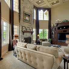 Traditional Family Room by Rare Additions Interior Design, Inc.