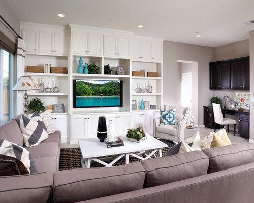 Best Beach Style Family Room Design Ideas Amp Remodel