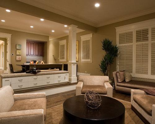 Living Room Columns family room columns | houzz