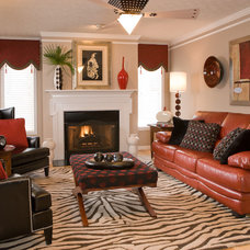Traditional Family Room by Decorating Den Interiors --The Sisters & Company