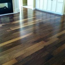 Traditional Hardwood Flooring by DeGraaf Interiors